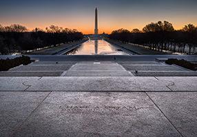 Lincoln Memorial, Washington DC, 2013, December